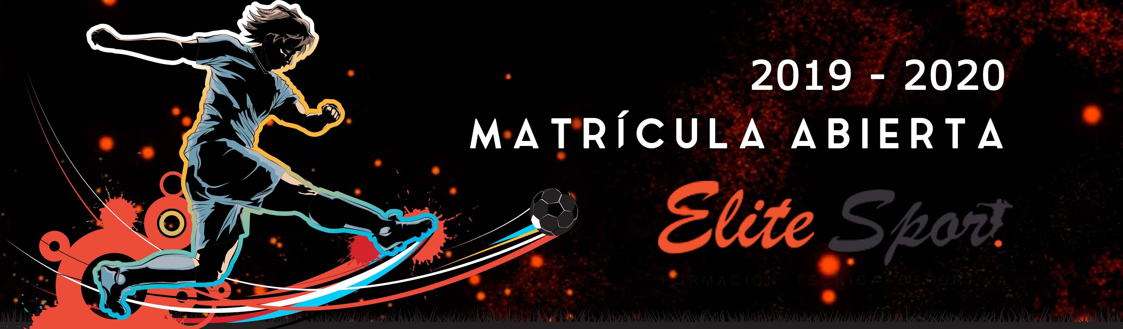 Matricula Curso Entrenador de Fútbol 19 - 20